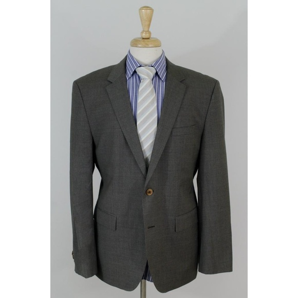 855f66543 Hugo Boss Suits & Blazers | Hugoboss The Keys 42s Gray 110s 2b Sport ...